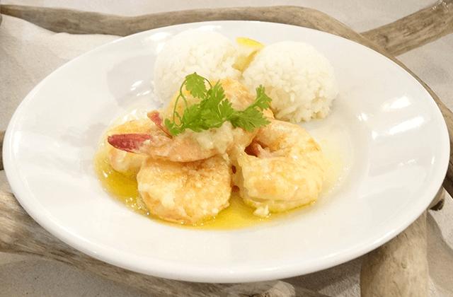 ガーリックシュリンプ(Garlic Shrimp)