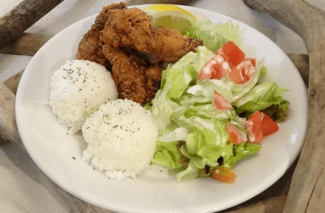 モチコチキンプレート(Mochiko Chicken Plate)